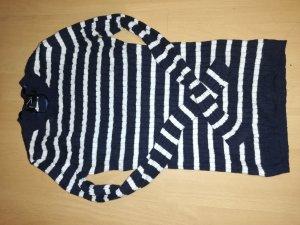 Primark Maglione lungo bianco-blu scuro