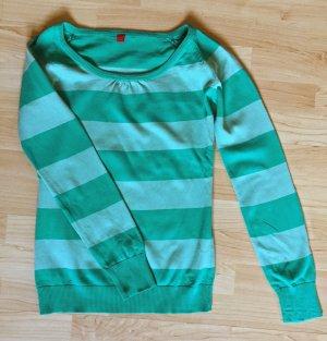 gestreifter Pullover von Esprit, Größe XS
