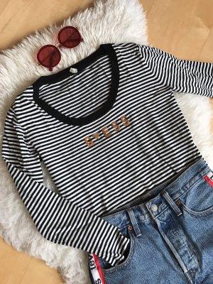 Guess Pullover a maglia grossa nero-bianco