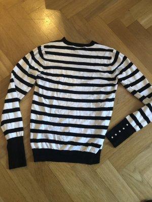 gestreifter Pullover Zara M /38