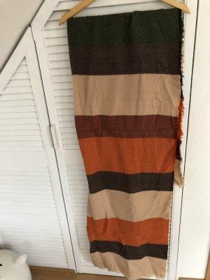 Zara Écharpe en laine multicolore