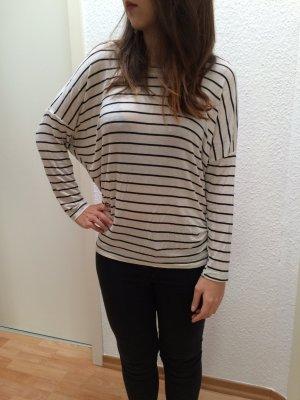 Gestreifter weiter Pulli / Shirt von Zara TRF Größe M