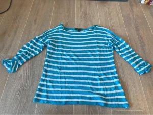 Ralph Lauren Gestreept shirt blauw-wit