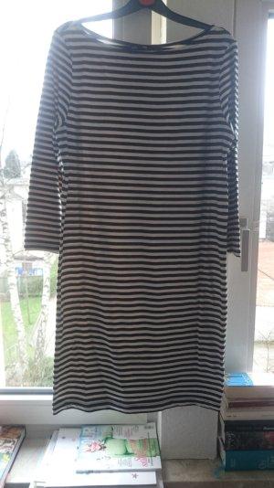 Gestreiftes Basic Kleid