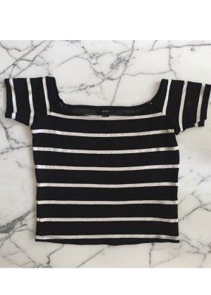 Gestreiftes Croptop / Cropped Shirt NEU