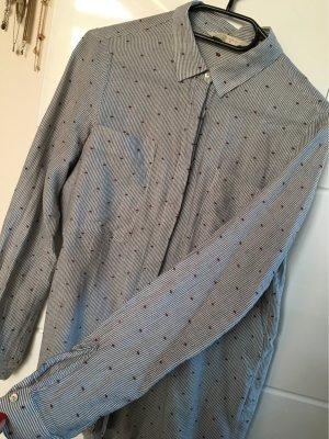 Zara Long Sleeve Shirt slate-gray-white