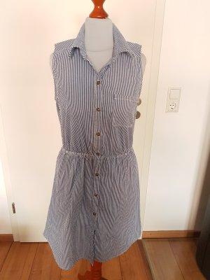 BELLE DE JOUR Shirtwaist dress white-blue
