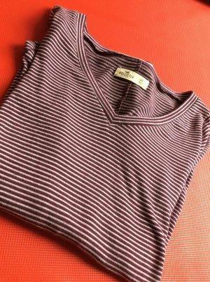 Gestreiftes Hollister Langarm Shirt