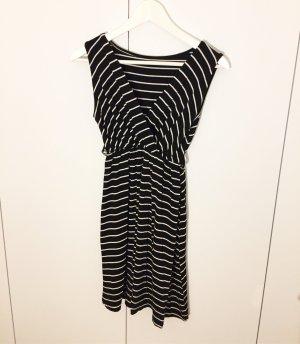 gestreiftes Jersey-Kleid