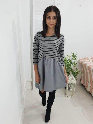 Robe noir-gris clair