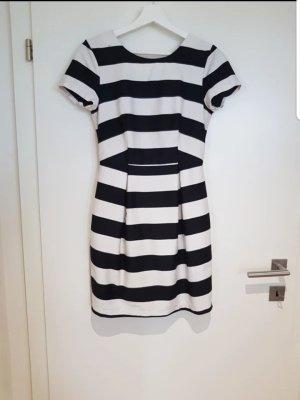 H&M Manteljurk wit-zwart