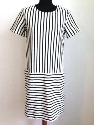 Gestreiftes Kleid aus Baumwolle von Uniqlo, Gr. M (38/40), ungetragen