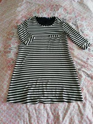 Tom Tailor Shirt Dress white-black