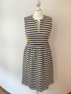 Gestreiftes Kleid mit Stickerei, Gr. 36 NEU UND UNGETRAGEN!