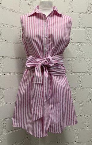 Sheinside Robe portefeuille blanc-rose