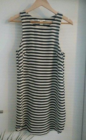 gestreiftes Kleid von H&M aus Polyester