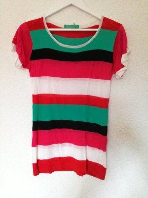 Gestreiftes Kurzarm Shirt Streifen