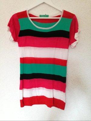 Gestreiftes Kurzarm Shirt Streifen T-Shirt