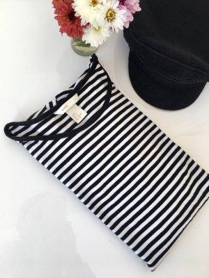 H&M Maglietta a righe nero-bianco
