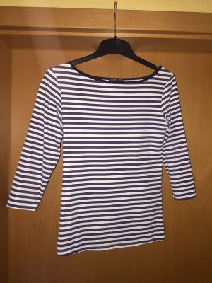 Zara Sweatshirt wit-korenblauw