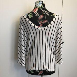 Zara Top extra-large noir-blanc
