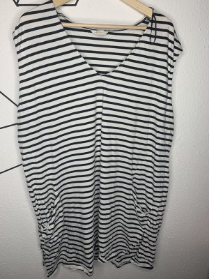 H&M Camisa larga blanco-negro
