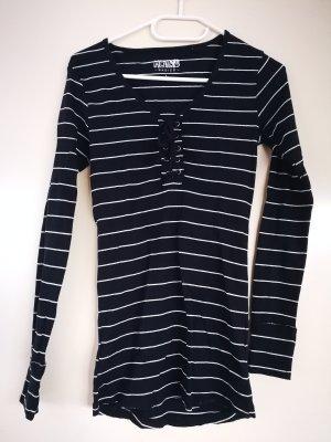 holly's Gestreept shirt donkerblauw-wit Katoen