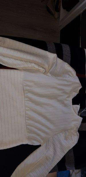 H&M Maglione twin set crema