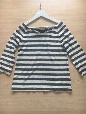 Marc O'Polo Gestreept shirt wit-donkerblauw