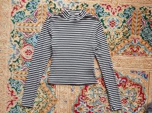 H&M Camisa de rayas multicolor tejido mezclado