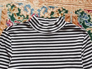 H&M T-shirt rayé multicolore tissu mixte