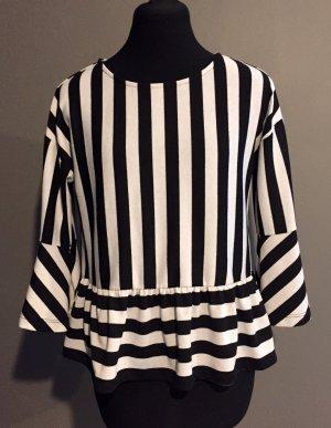 Vero Moda Empire shirt wit-zwart