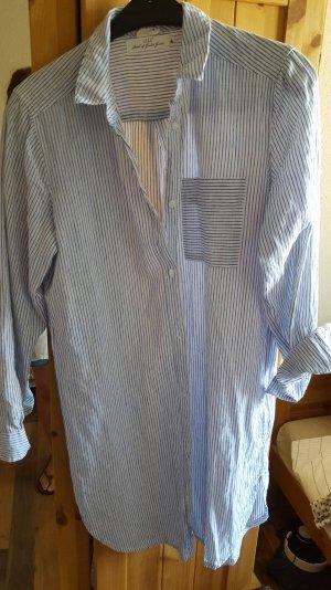Gestreiftes Oversized-Hemd Gr. 34 H&M
