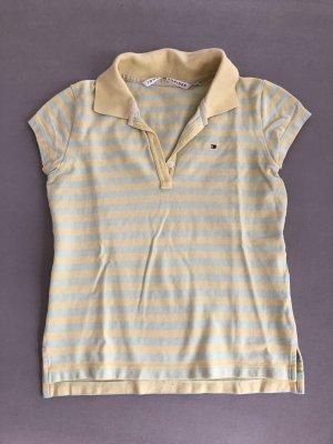 Tommy Hilfiger Camiseta tipo polo amarillo claro-menta
