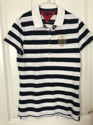 Gestreiftes Poloshirt in Größe L