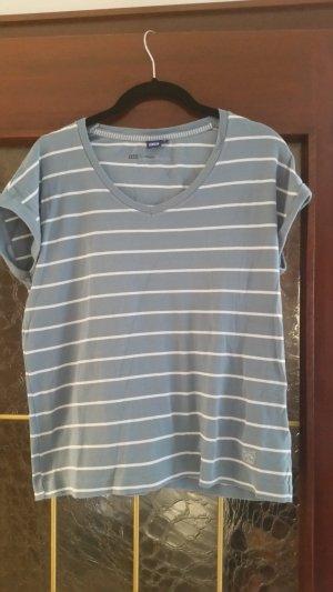 Cecil T-shirt bianco-blu pallido