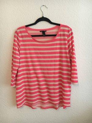 H&M T-shirt rayé multicolore