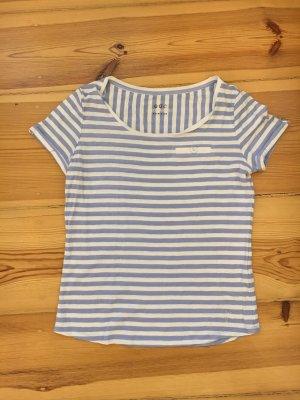 edc by Esprit Gestreept shirt wit-azuur