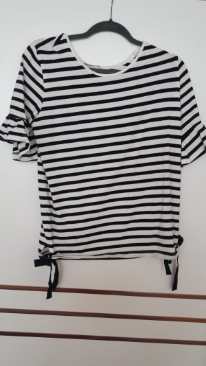 Orsay Gestreept shirt wit-zwart