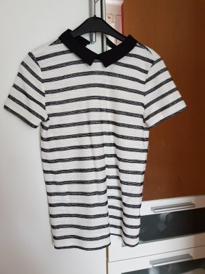 Gestreiftes Shirt mit Kragen