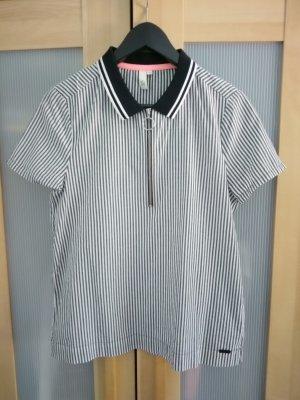 Gestreiftes Shirt mit Kragen von Q/S