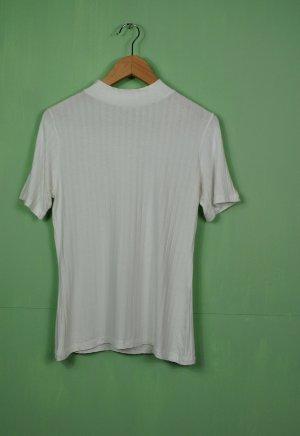 Gestreiftes Shirt mit Turtleneck
