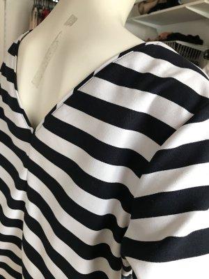 s.Oliver T-shirt court noir-blanc