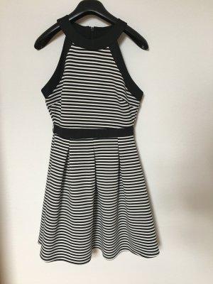Blind Date Vestido negro-blanco
