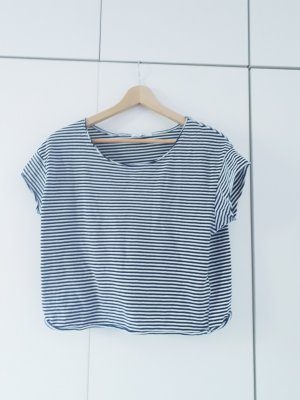 Forever 21 Boothalsshirt wit-blauw