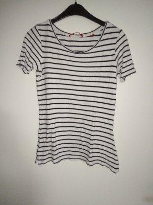 s.Oliver Gestreept shirt zwart-wit
