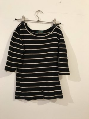 Knitted Top black-white