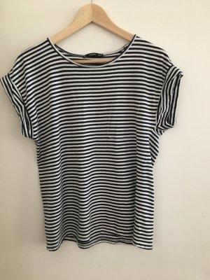 Gestreiftes T-Shirt von Mango in Größe M