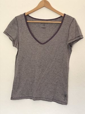 Marc O'Polo Stripe Shirt grey violet