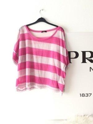 Gestreiftes Tshirt Pink